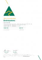 Envirol Hand Sanitiser – Australian Made Certificate